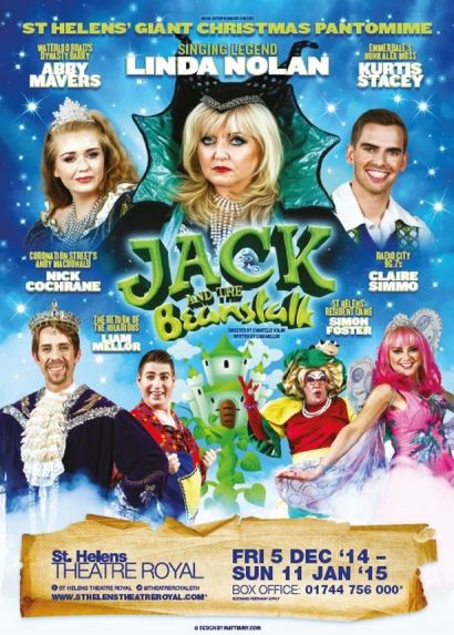 'Jack and the Beanstalk' at St Helens Theatre Royal 2014/15