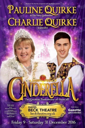 'Cinderella' at the Beck Theatre, Hayes December 2016